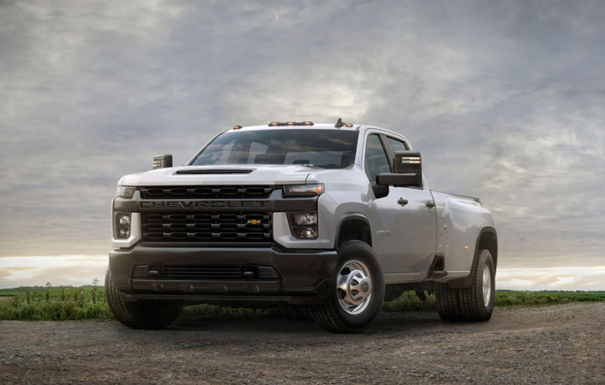 2020 Chevrolet Silverado Custom Trail Boss Colors ...