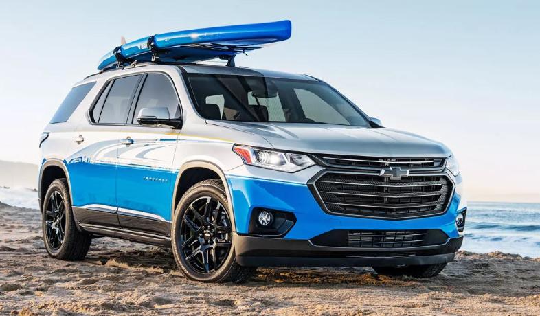 2021 Chevrolet Traverse 1LT Colors, Redesign, Engine ...