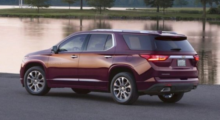 2021 Chevrolet Traverse AWD 4DR LT Colors, Redesign ...